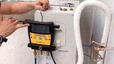 Como fazer o recolhimento do gás do ar condicionado ou como recolher o f...