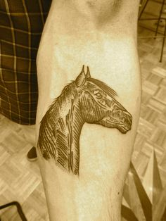 horse by lyam #tattoos