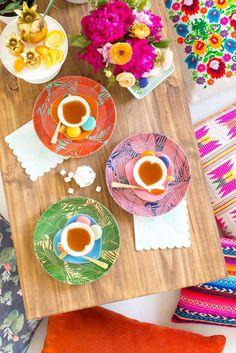 DIY Low Floor Table | Sugar & Cloth
