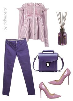 """Lavender"" by aakiegera on Polyvore featuring мода, Victoria, Victoria Beckham, Pier 1 Imports и Armani Collezioni"