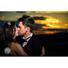 Yesterday's Hot Sunset | www.cristians.ro #bride #groom #kiss #love #beginning #merried #weddingday #weddingphotography #sunset #sky #clouds #destinationweddingphotographer  #cristiansabau #cristians #Transylvania #Romania #nikon #D750 #nikond750 #nikonnofilter #light #pin #photooftheday