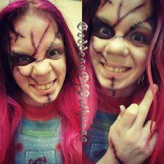 #chucky #childsplay #brideofchucky #seedofchucky #makeup #makeupart #cosplay