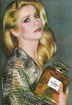 Catherine Deneuve - Chanel nº 5 ad