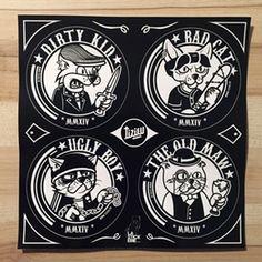 Image of Stickers BadCat
