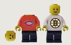 Hockey in LEGO land
