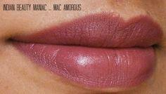 MAC Amorous on Medium toned Indian Skin www.indianbeautymaniac.net