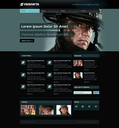 Gorgeous Website Templates For free Download