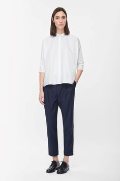 COS | Loose-fit wool trousers