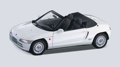 The Pininfarina-designed Honda Beat was built between 1991 and 1996, during the glory years of the kei car. It was the final car approved by Soichiro Honda before he died in 1991.