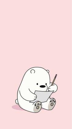 Wallpaper of the day Cute Panda Wallpaper, Cartoon Wallpaper Iphone, Bear Wallpaper, Cute Disney Wallpaper, Kawaii Wallpaper, Girl Wallpaper, We Bare Bears Wallpapers, Panda Wallpapers, Cute Cartoon Wallpapers