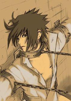 Wow it's hot! I noticed that he has no pants on *smirk* || We Heart It #sasuke #uchiha: