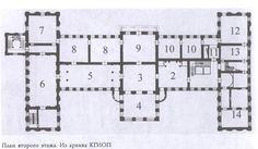 Anichkov Palace.  --  first floor.