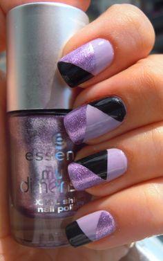 Essence - 27 No More Drama, Inglot - 953, Essence - 59 Purple Diamond
