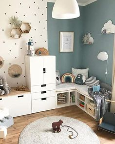 Children's Room Children's Room; Home Decoration; Home Design; Little Girls; Home Storage;Table setting; Home Furniture; Baby Room Boy, Baby Bedroom, Girl Room, Kids Bedroom, Child Room, Room Kids, Baby Baby, Bedroom Ideas, Nursery Wall Decor