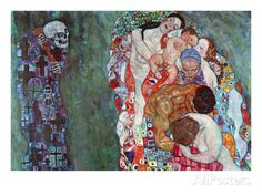 Death and Life Prints by Gustav Klimt at AllPosters.com