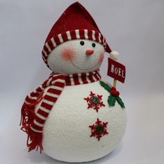 Snowman with Hat & Scarf 18inch - Christmas - £23.99 - Christmas Accessories - Christmas - Wholesale Florist & Floristry Supplies