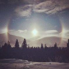 #Alaska #sundog