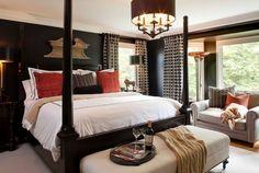 Erfrischende Ideen für Schlafzimmer, die dunkel gefärbt sind   - http://wohnideenn.de/schlafzimmer/06/erfrischende-ideen-fur-schlafzimmer.html #Schlafzimmer
