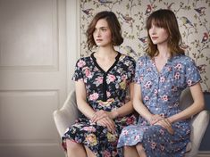 Cath Kidston AW15 - Garden Rose and Trailing Rose Printed Dresses