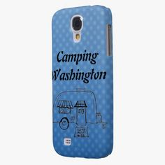It's cute! This Camping Washington Samsung Galaxy S4 Covers is completely customizable and ready to be personalized or purchased as is. Click and check it out!