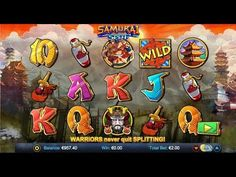 Samurai Split is one of the latest online #slot game with lots of riches to be won at. Watch the amazing game-play of this online #slotmachine game now!! Visit @VegasMobCasino for more such #casinogames!!     https://youtu.be/D3NB5KK5OyE