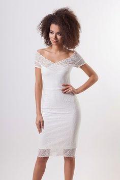 MOSQUITO Dámské šaty After Midnight bílé