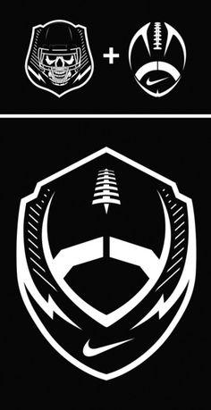 Cool nike football logos