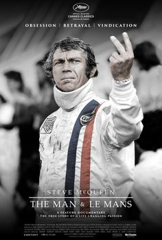 lienfeed:   Official Poster for The Documentary Steve McQueen: The Man & Le Mans Keep reading