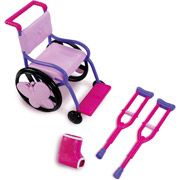 """My Life As Wheel Chair Set for 18"""" doll. How cute is this???"""