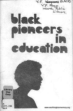 Full Screen Image Of Page 1 Black Pioneers In Education