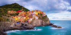 Most Colorful Beach Towns - Colorful Beach Destinations