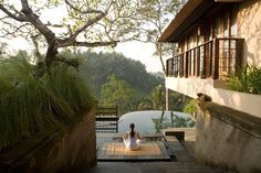 Yoga Retreat at 5 star hotel: Kamandalu Ubud Resort. This hotel's address is: Jl. Andong, Banjar Nagi Ubud Bali 80571 and have 56 rooms Ubud Resort, Resort Villa, Resort Spa, Dream Vacations, Vacation Spots, Ubud Villas, Hotel Packages, The Good Place, Yoga Retreat