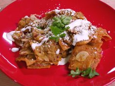 Ready to up your breakfast game? Now you can thanks to this traditional Mexican breakfast chilaquiles recipe from MasterChef winner Claudia Sandoval!