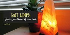 An expert answers the most common questions about Himalayan Salt Lamps, including 'How long do they last?' and 'Why is mine sweating?'