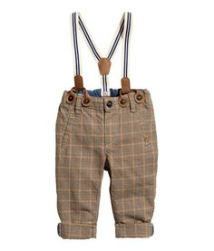 Chinos with Suspenders | Product Detail | H&M