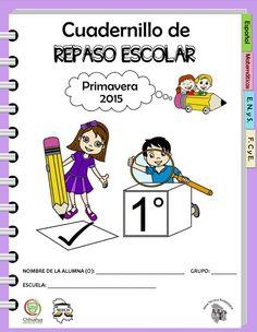 Cuadernillo de repaso escolar para el primer grado primavera 2015 - http://materialeducativo.org/cuadernillo-de-repaso-escolar-para-el-primer-grado-primavera-2015/
