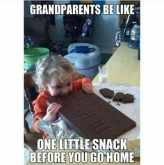 When you're spoiled AF by your grandparents. | 18 Times The Internet Told The Truth About Grandmas