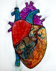 My Heart Goes On...By Arpita Choudhury via The Science of Illustration