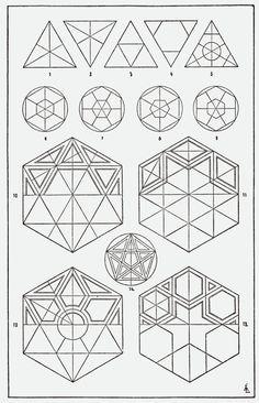 Ideas For Tattoo Geometric Triangle Graphic Design Sacred Geometry Geometric Patterns, Islamic Patterns, Geometric Designs, Textures Patterns, Geometric Shapes, Sacred Geometry Patterns, Basic Geometry, Sacred Geometry Art, Tile Patterns