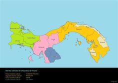 Tribunales Superiores de Distrito en la Republica de Panama y su ubicacion