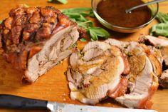 Porchetta Style Roast Pork Shoulder   KneadForFood - Food Blog Recipes