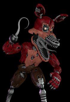Nightmare foxy sfm Fnaf Characters, Sister Location, Fursuit, Five Nights At Freddy's, 3d, Random Stuff, Cosplay, Watch, Baby