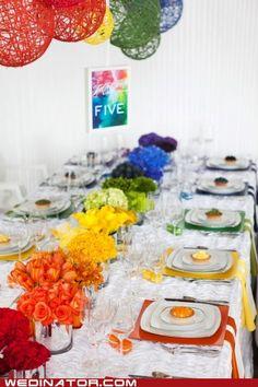 31957eeea2a rainbow wedding  -) it matches the bridesmaids dress!!! Aghhhhhhhh! Get