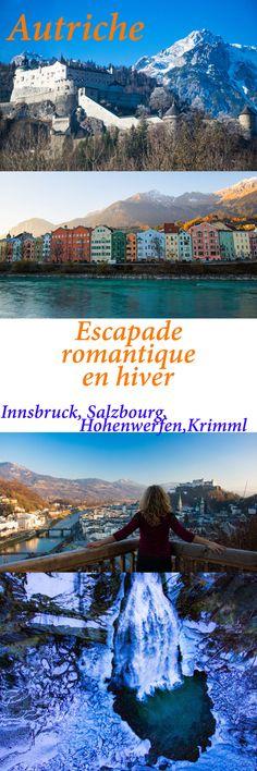 Itinéraire romantique en Autriche : un voyage de rêve entre Salzbourg, Innsbruck, le château Hohenwerfen, les cascades de Krimml et un hôtel spa romantique. Innsbruck, Skier, Les Cascades, Road Trip, Alps, Austria, Places To Go, Germany, Photos