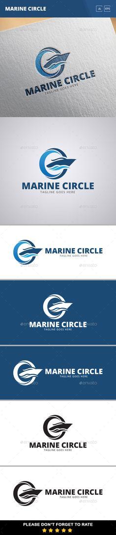 Marine Circle Logo Template