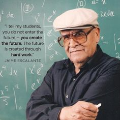 It's National Teacher Appreciation Week! In the spirit of this great photo we found on Voto Latino, tell us all about the most inspirational teachers you've had! Let the party begin!