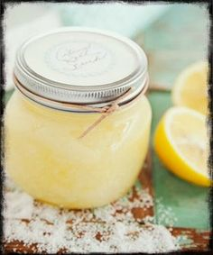 Diy body scrub. Erases scars and dark spots, kills acne, brightens skin, and smells delicious.