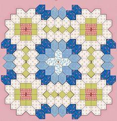 Közbélések és patchwork: Techniques patchwork