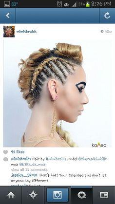 Love the braids