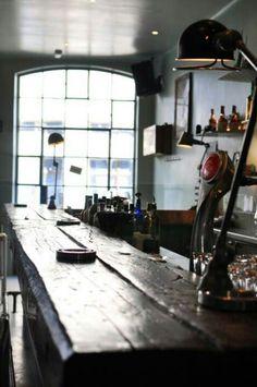 corvin cristian atelier mecanic 11 Connecting History and Modernism Through Design: Mechanical Workshop Bar by Corvin Cristian Restaurant Bar, Restaurant Design, Cafe Design, House Design, Interior And Exterior, Interior Design, Bar Interior, Hotel Motel, Cafe Bar